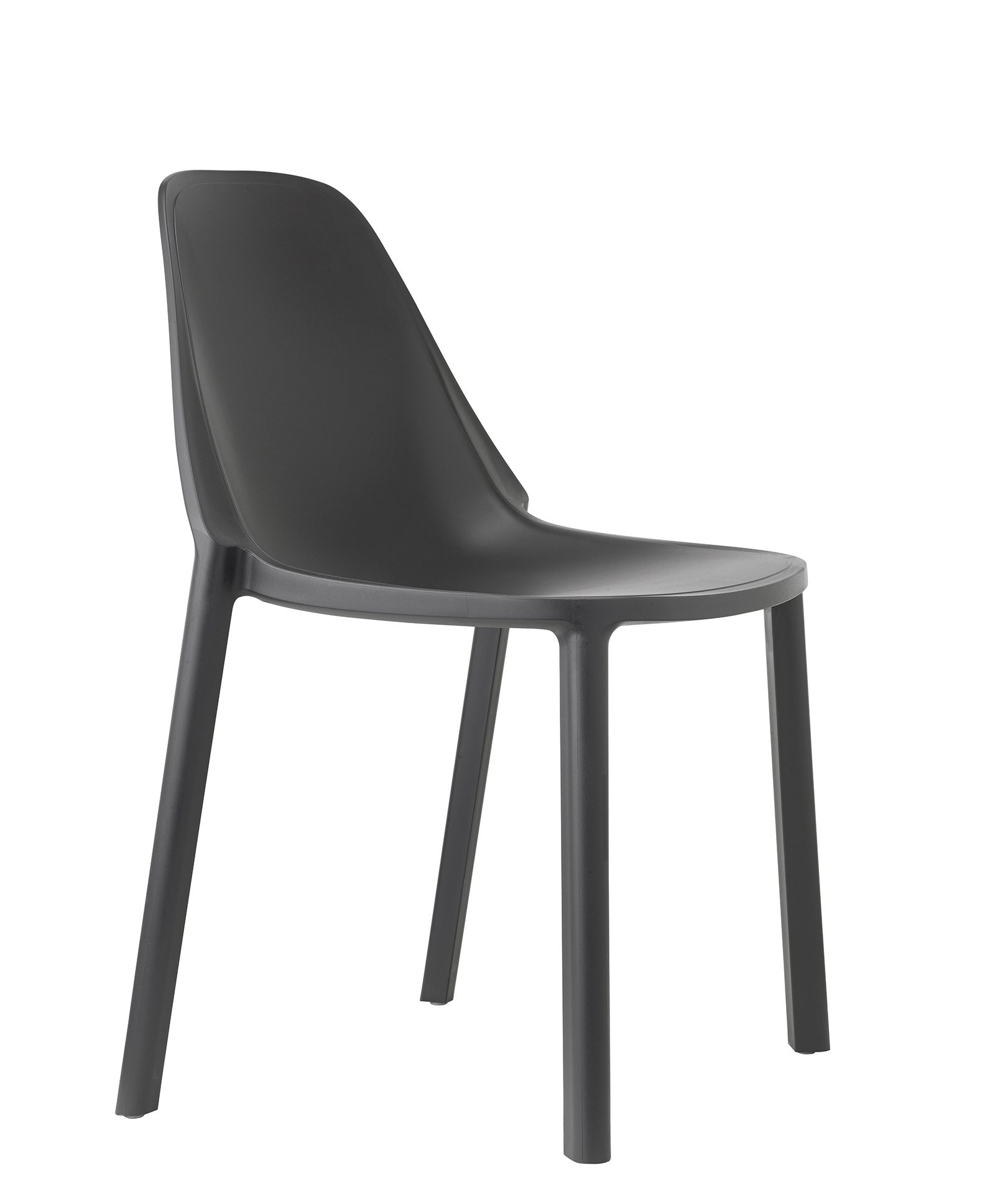 remix plastic stackable cafe chair antharcite stakelum office