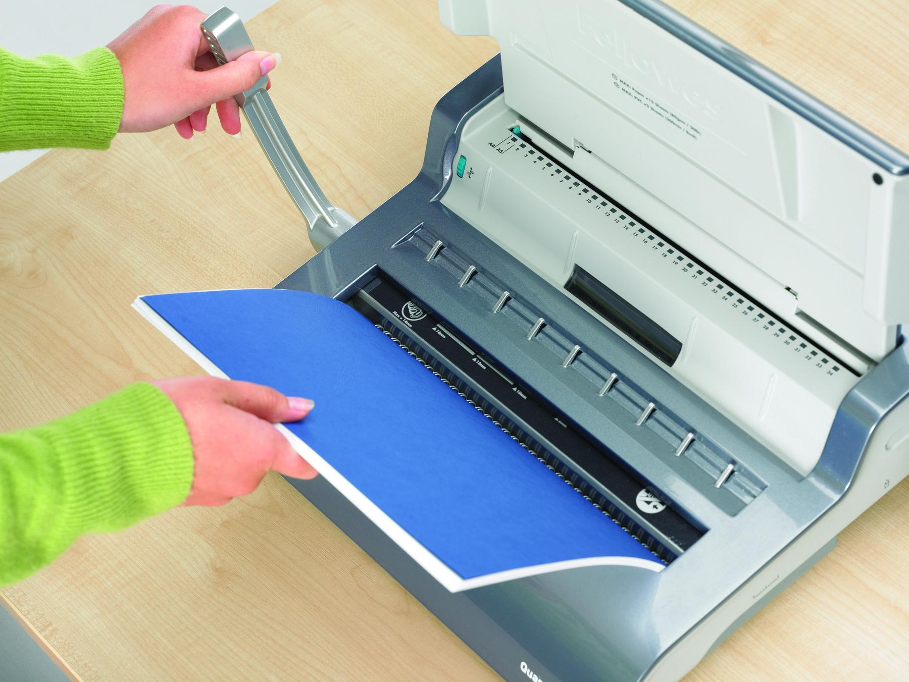 personal wire binding machine