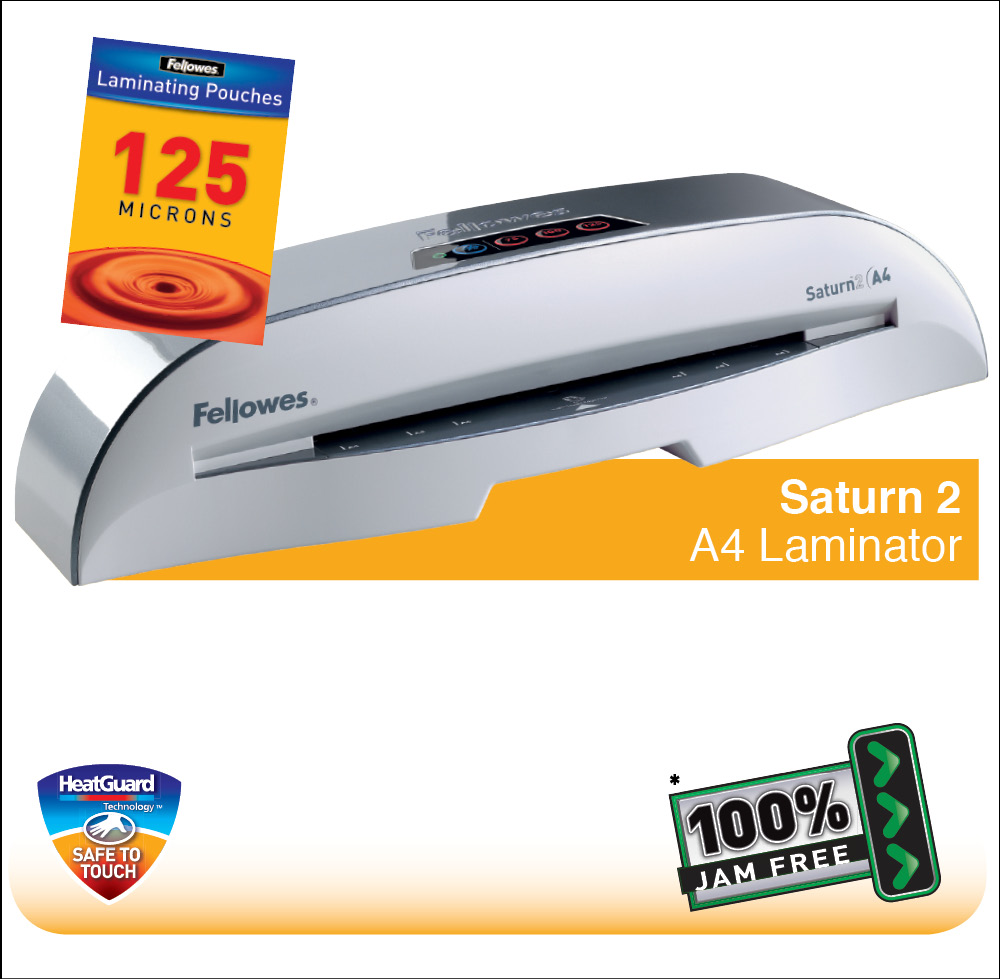 fellowes saturn a3 laminator instructions
