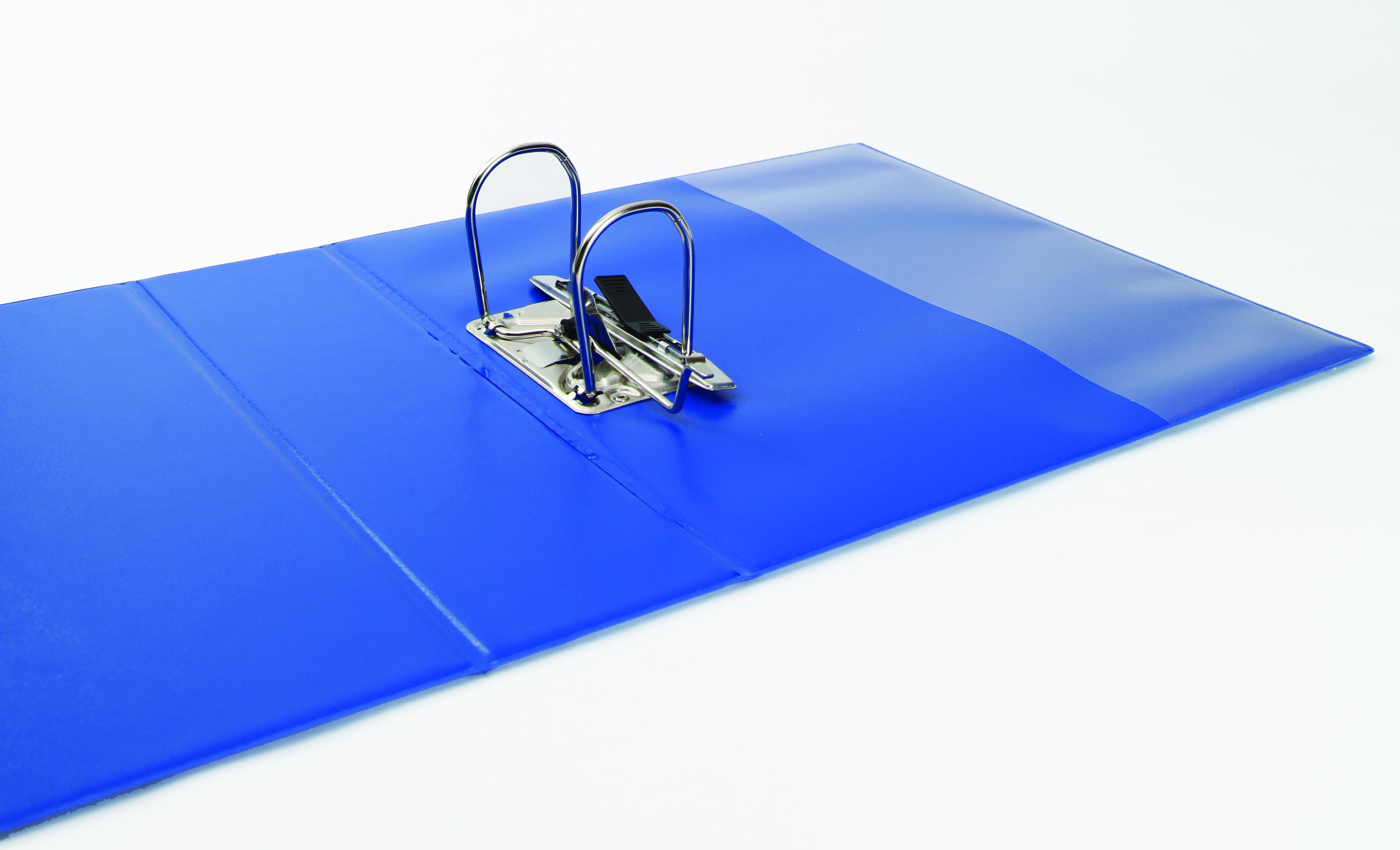 elba panorama presentation ring binder 2 ring a4 70mm blue 400008438