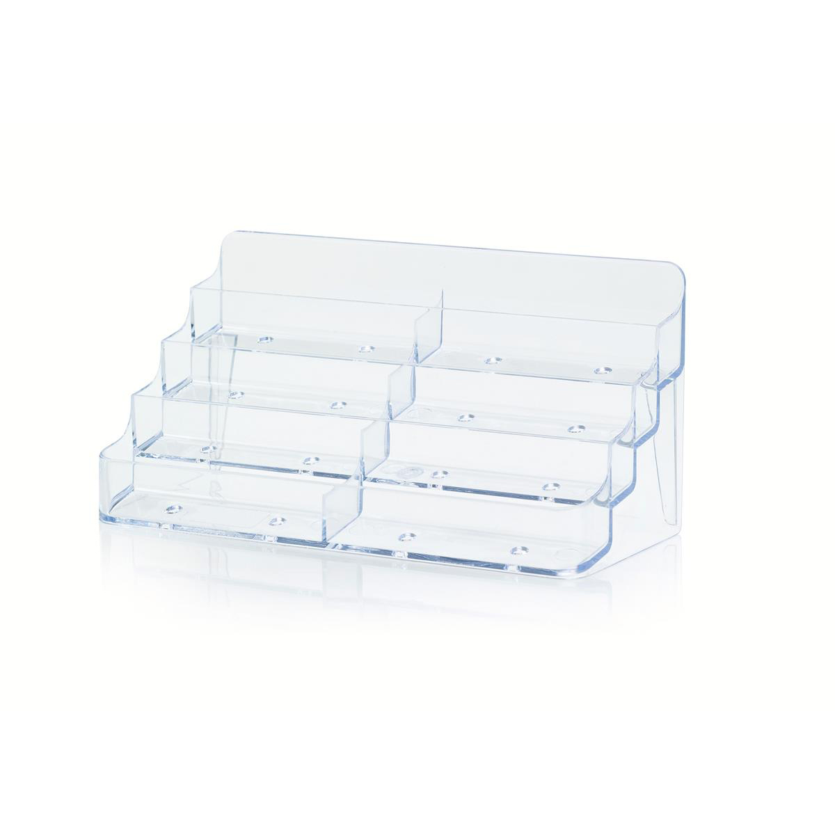 Business card holder desktop 8 pockets clear office things dublin business card holder desktop 8 pockets clear office things dublin ireland have the best pricing on office supplies furniture machines envelopes reheart Gallery