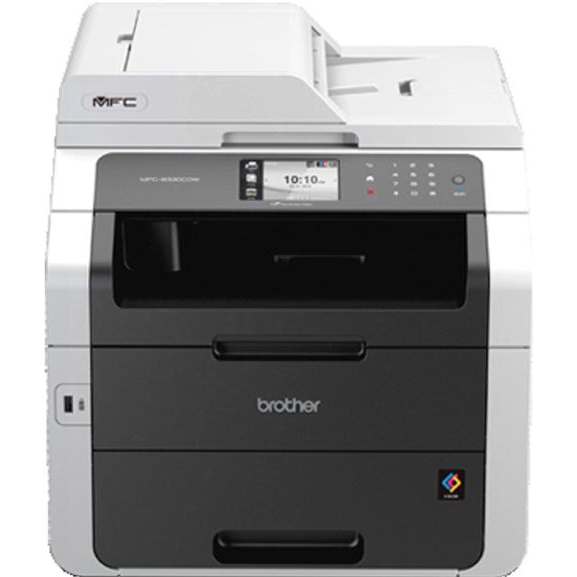 brother mfc 9330cdw colour laser all in one printer with fax white mfc9330cdw pwd. Black Bedroom Furniture Sets. Home Design Ideas