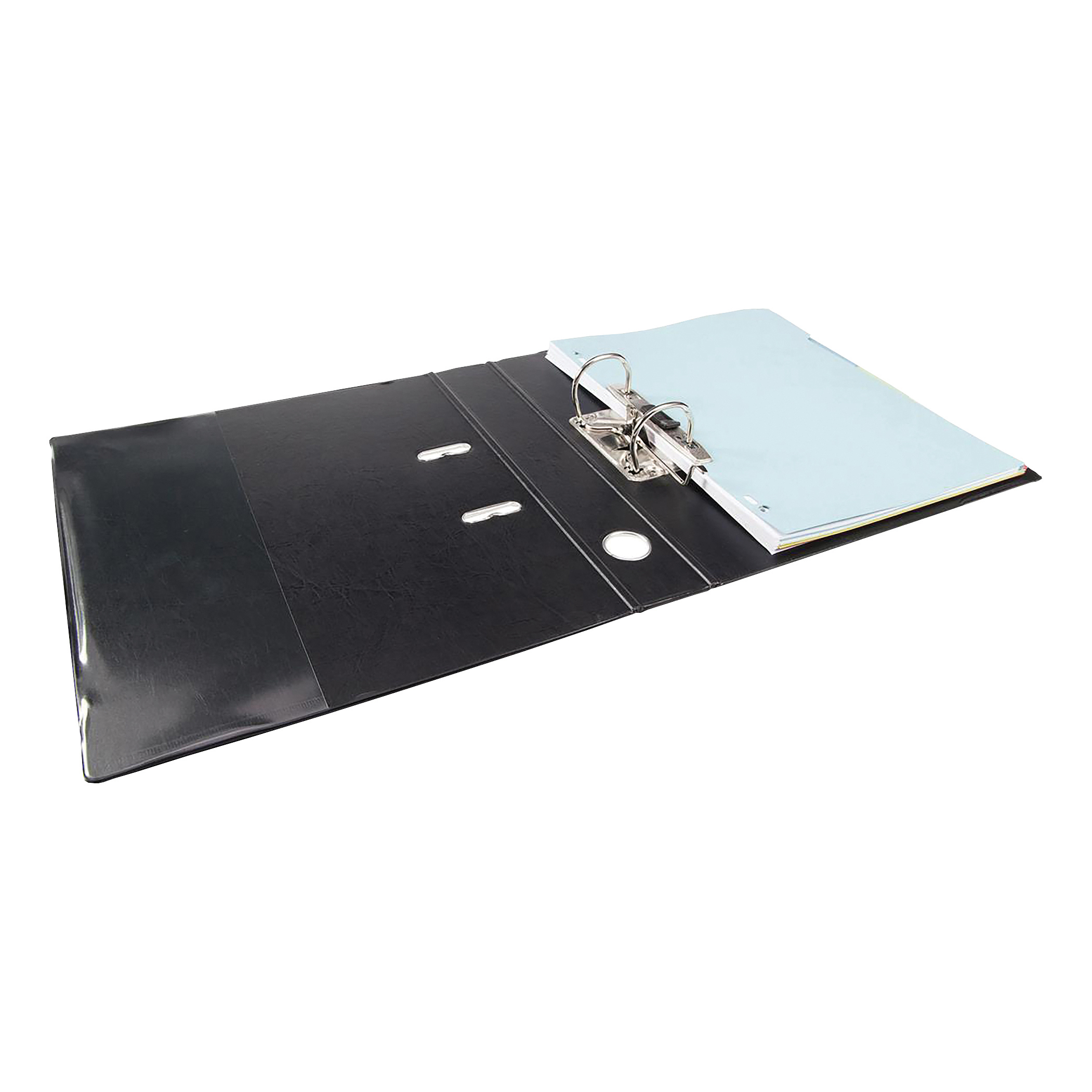 Elba Mini Lever Arch File PP 50mm Spine A4 Black Ref 100202102 [Pack ...