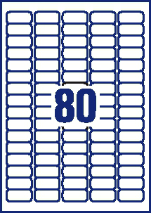 avery label sizes 30 per sheet avery mini labels removable laser 80