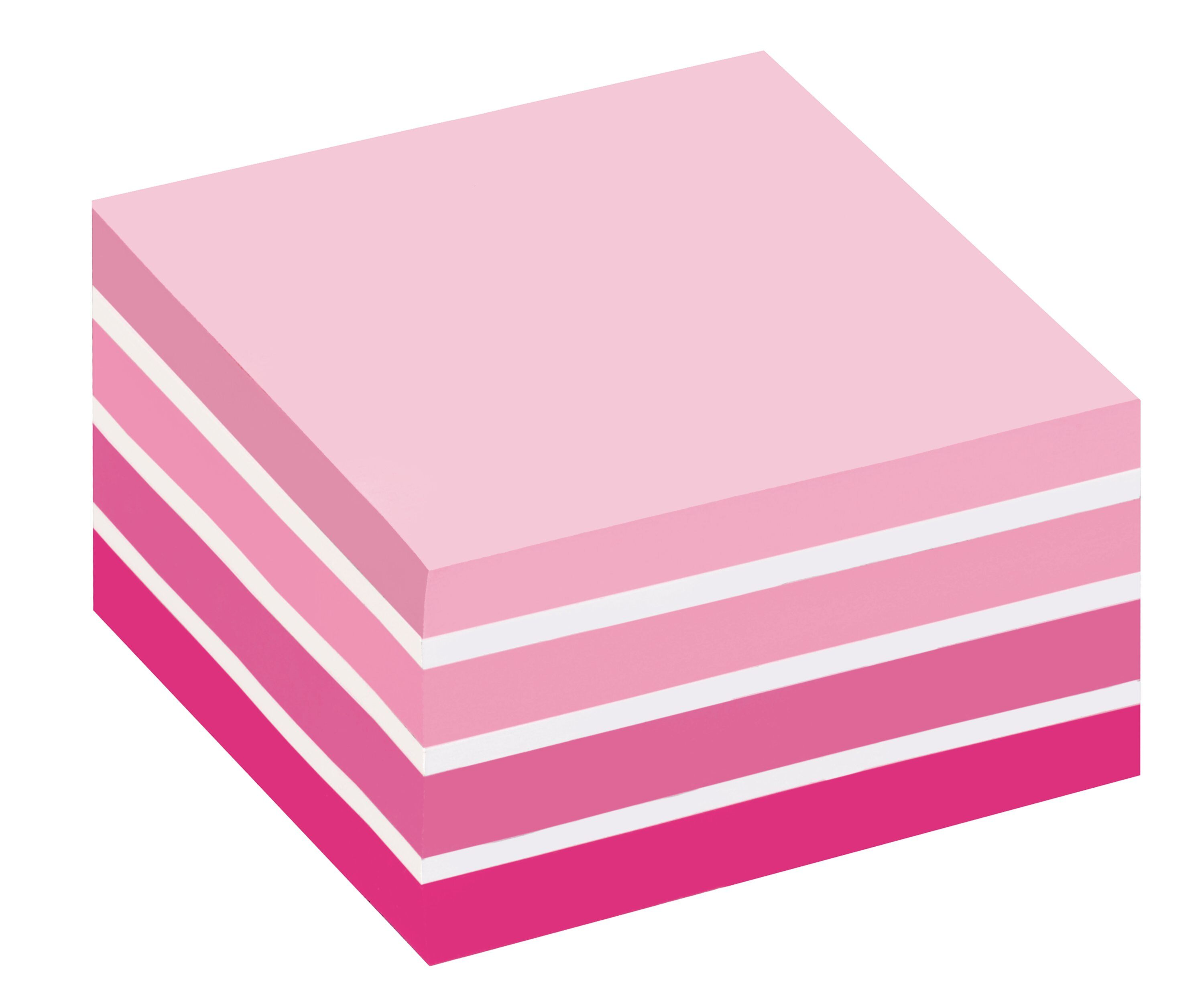 Post-it Note Cube 76x76mm Pastel Pink 2028P