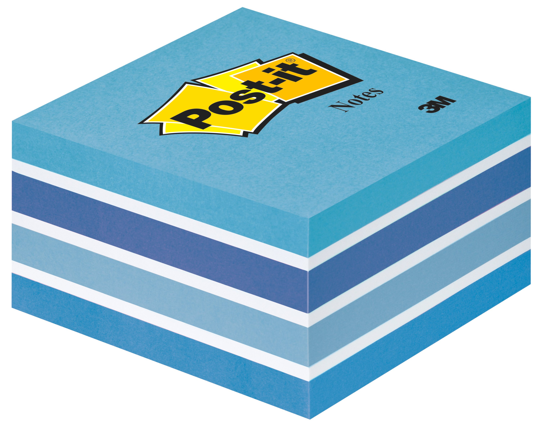Post-it Note Cube 76x76mm 450 Sheets Pastel Blue 2028B