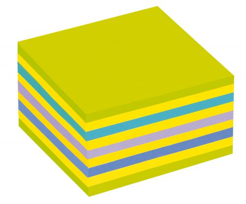 Post-it Note Cube 76x76mm Neon Assorted Ref 2028NB