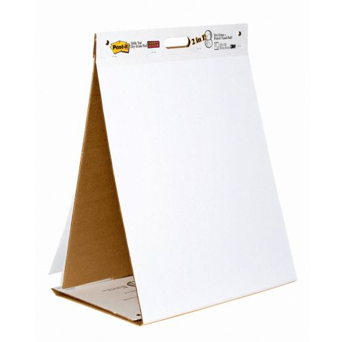 3M Post-it Table Top Meeting Chart/Dry Erase Board 546306