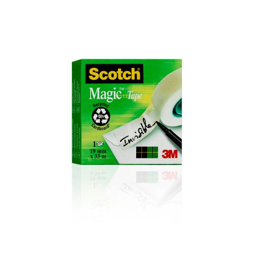 Scotch Magic Tape Invisible 19mmx33m Matt  8101933