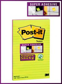 Post-it Notes Super Sticky 127 x 203mm Ultra (Pack of 2) 5845-SSEU
