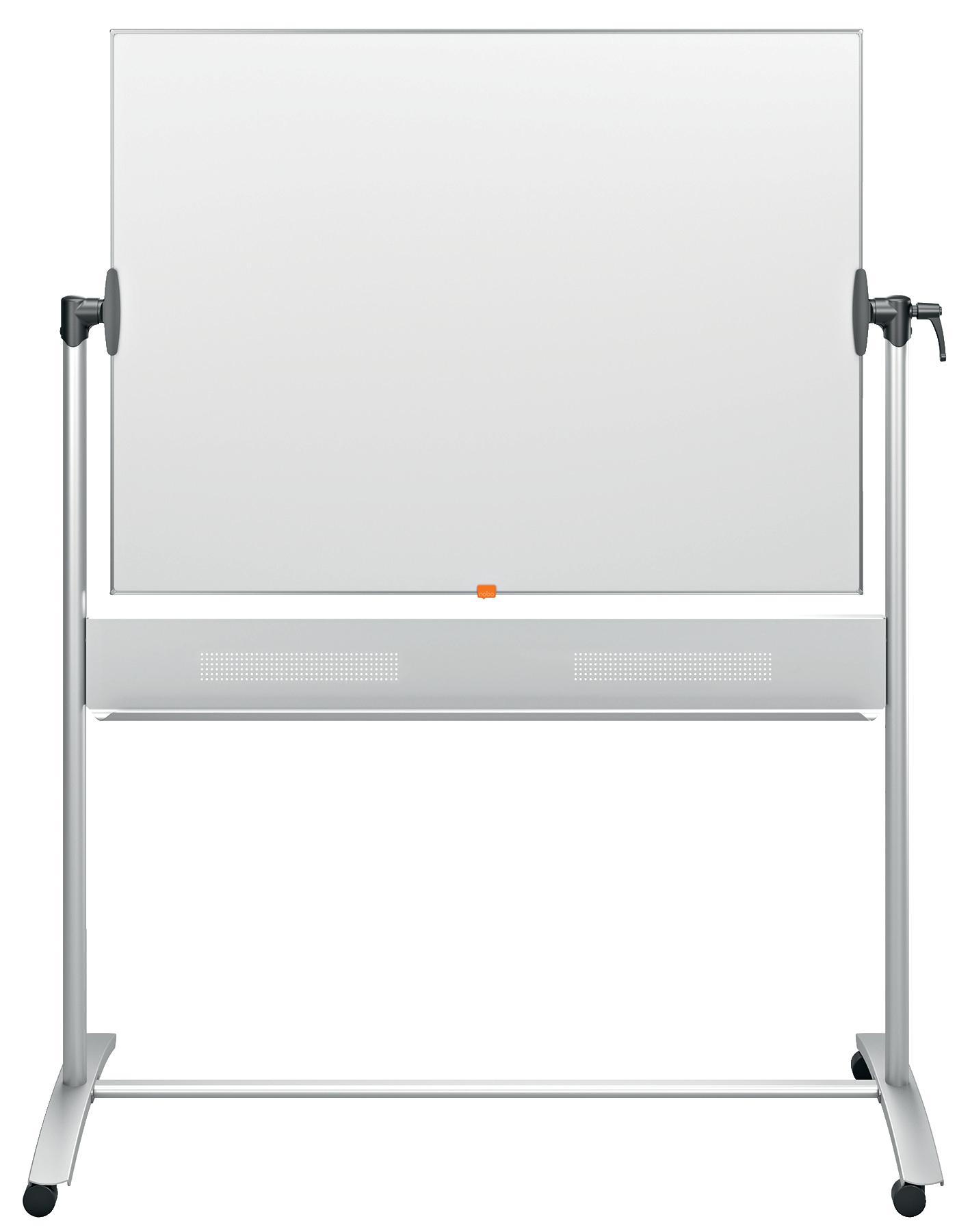Magnetic Nobo Mobile Drywipe Board Horizontal 900x1200mm