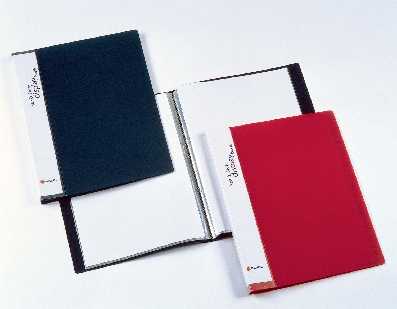 Rexel See & Store Book 40 Pocket BK