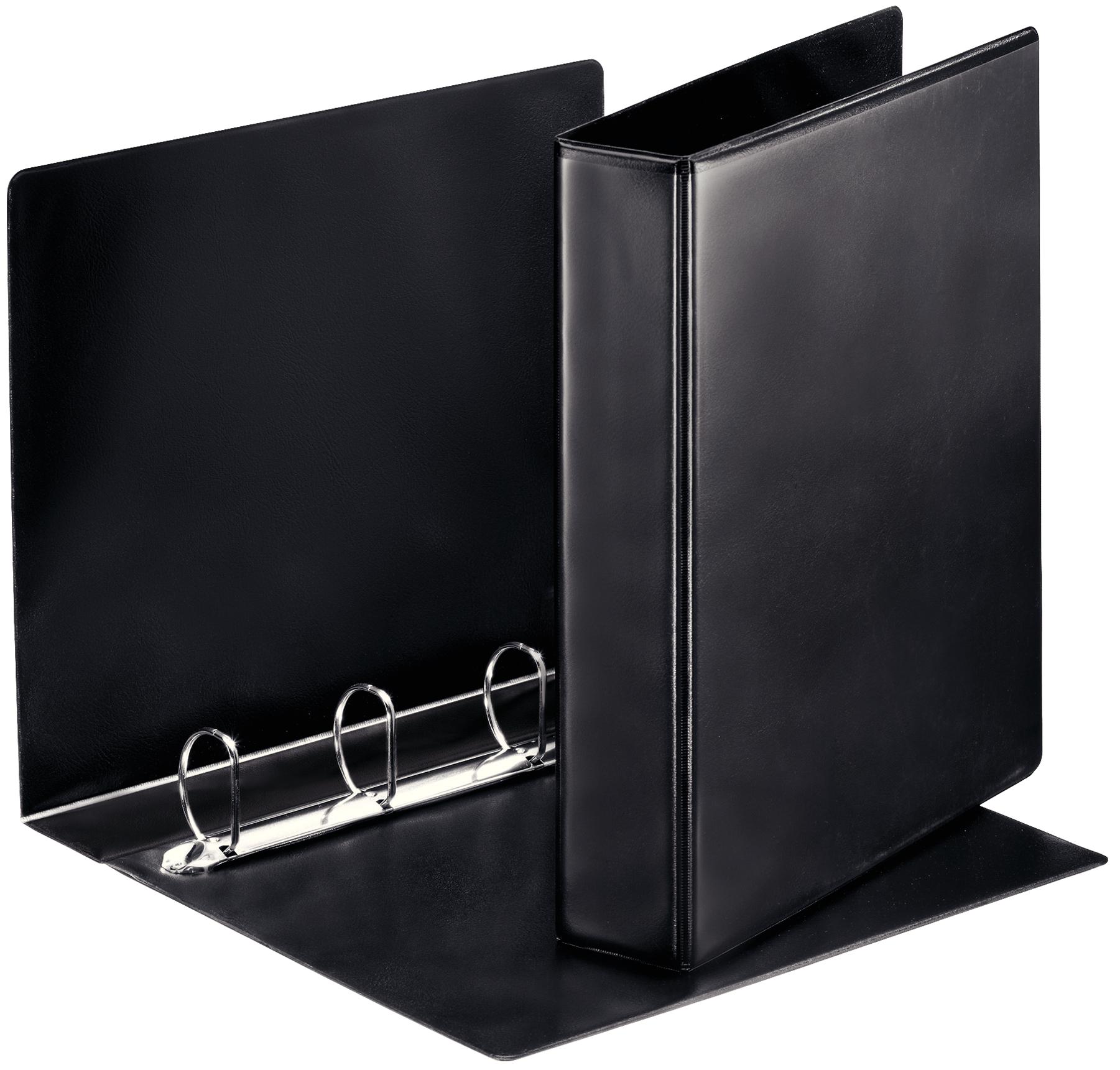 Esselte Essentials Pres Binder A4 40mm 4 D-Ring BK PK10
