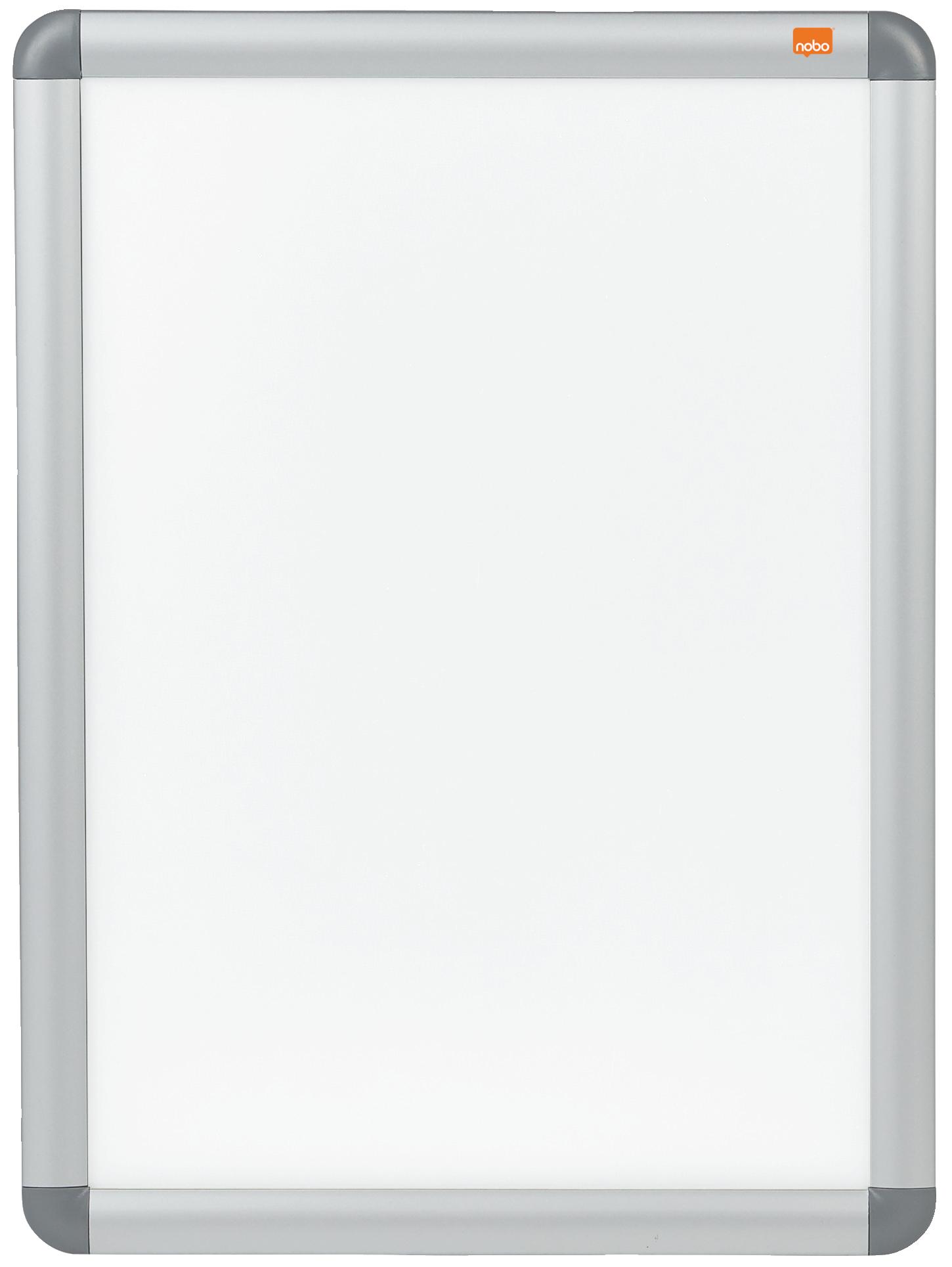 Nobo Clip Down Frame A3 Aluminium Frame Plastic Front Silver/Grey 1902213