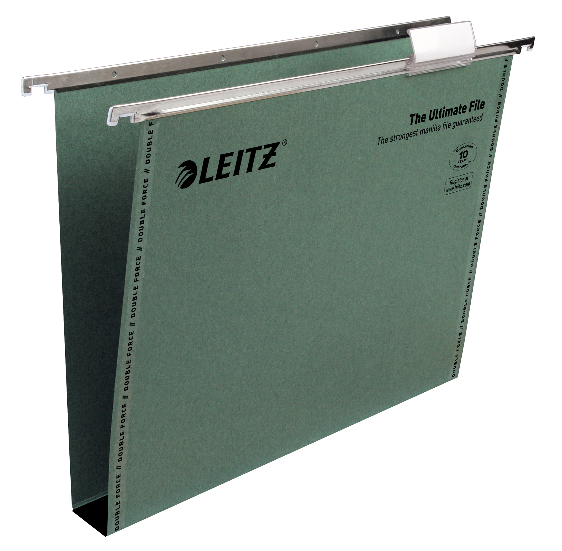 Leitz Ultimate Susp Files A4 30mm Recycled Green BX50