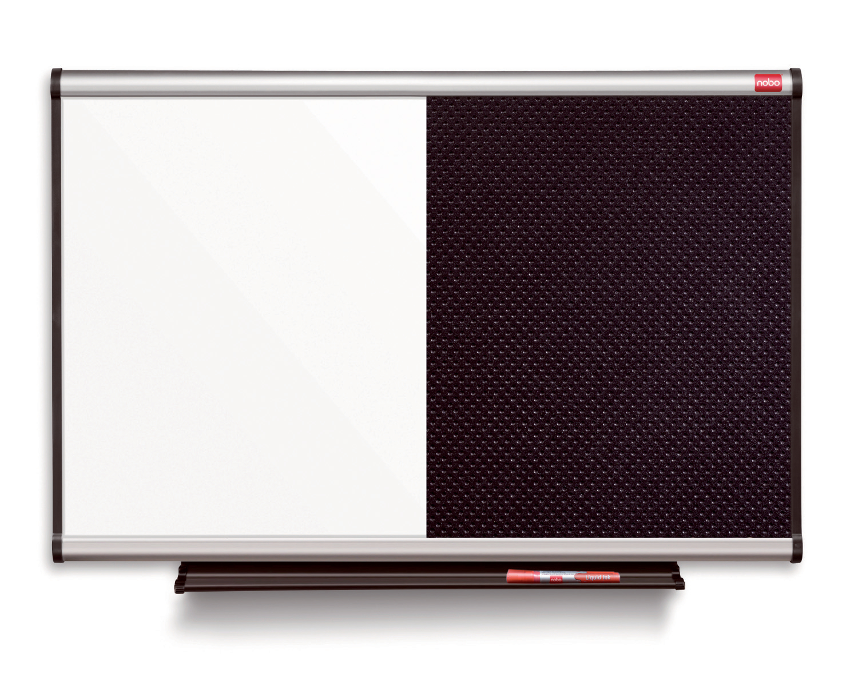 Nobo Prestige Combi Foam/Steel Noticeboard 1200x900mm