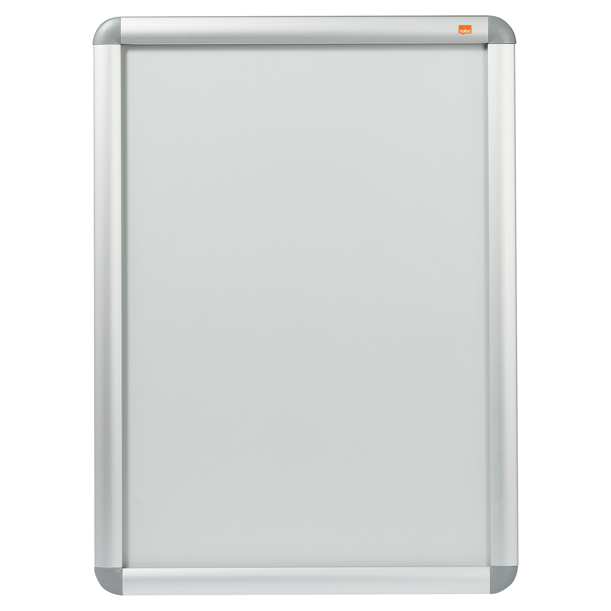 Nobo Clip-Down Frame Aluminium Front-Opening 594x420mm A2