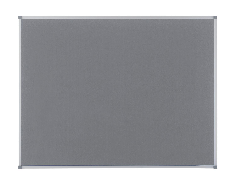 Nobo Classic 1800x1200mm Felt Noticeboard Grey Alu Frame