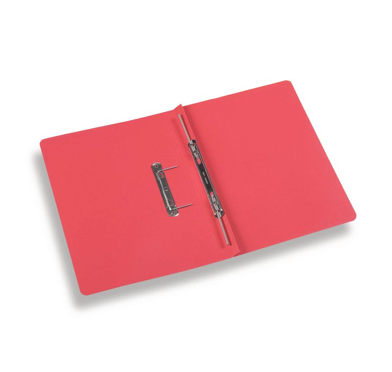 Rexel Jiffex Foolscap Transfer File Red PK50