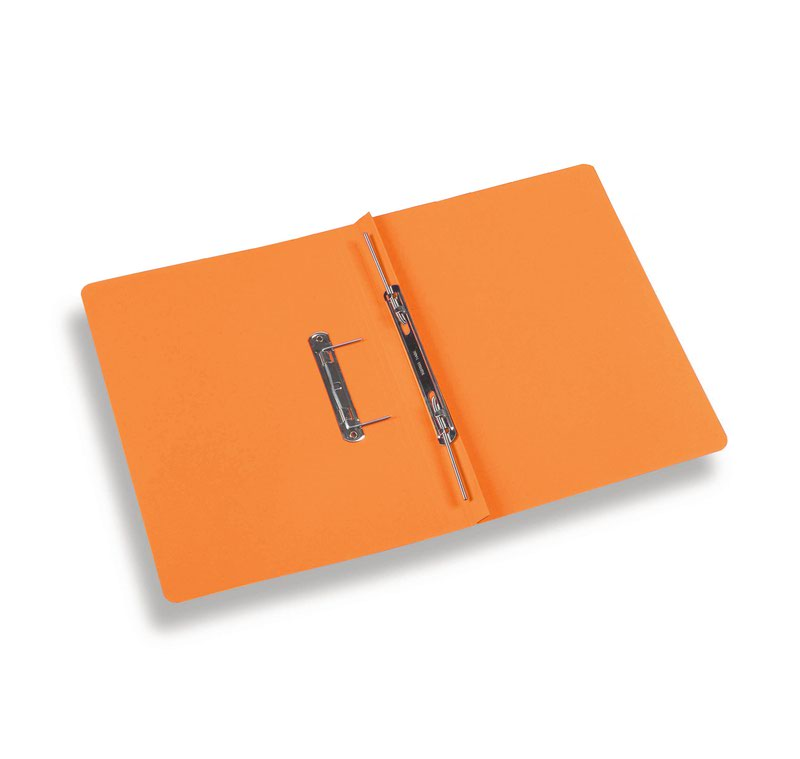 Rexel Jiffex Foolscap Transfer File Orange PK50