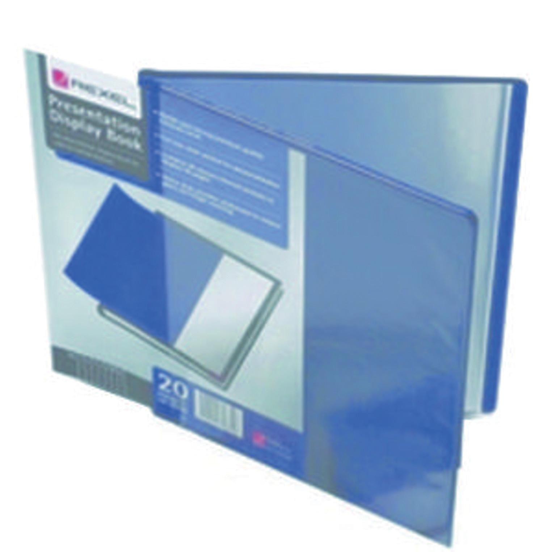 Rexel Presentation Display Book 20 Pocket A4  Black 12710BK