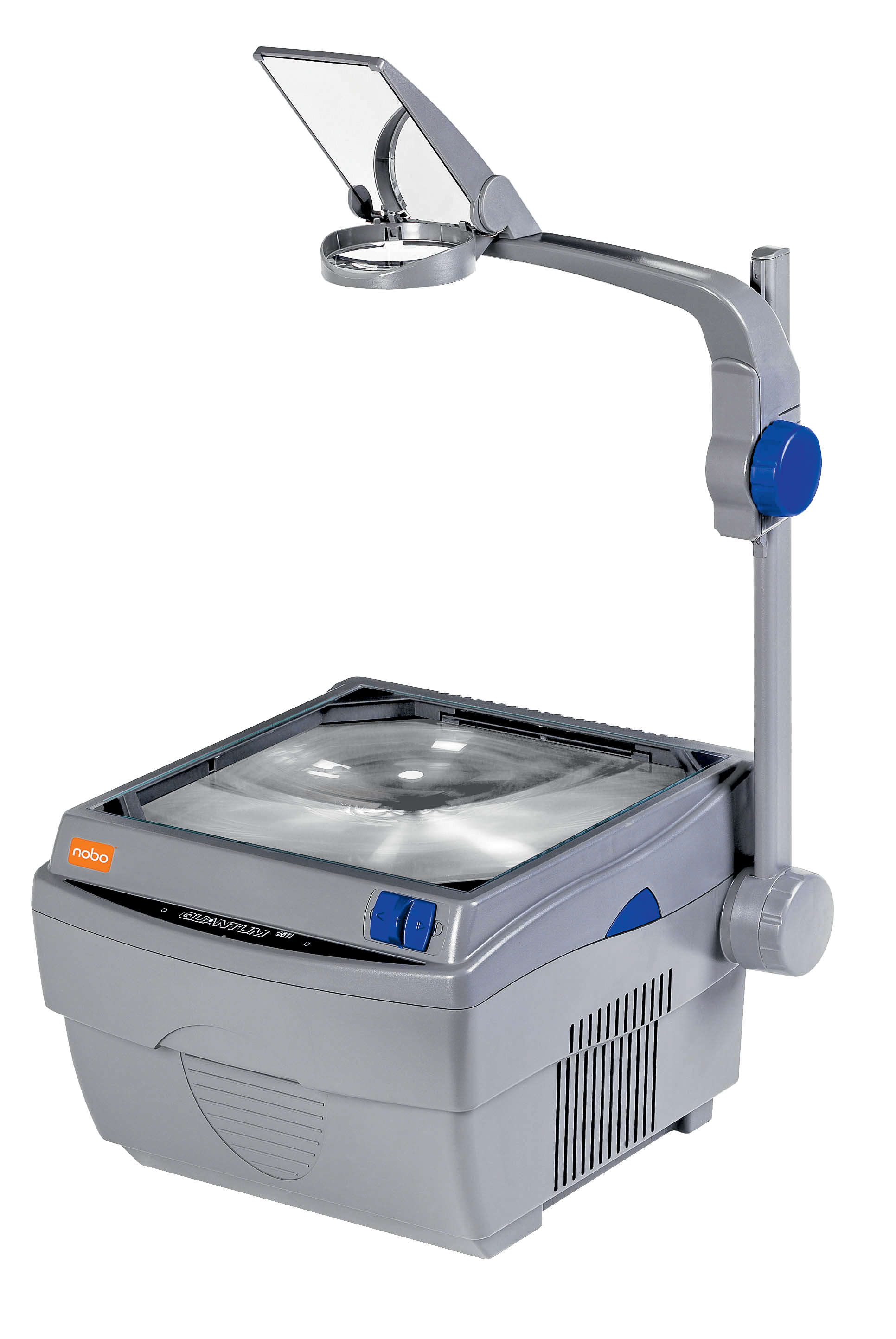 Image for Nobo Quantum 2521 Overhead Projector 2 Lamps Single Lens 2200 ANSI Lumens 8.15kg Ref 1900563