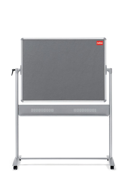 Magnetic Nobo Mobile Combi Whiteboard Noticeboard 900x1200