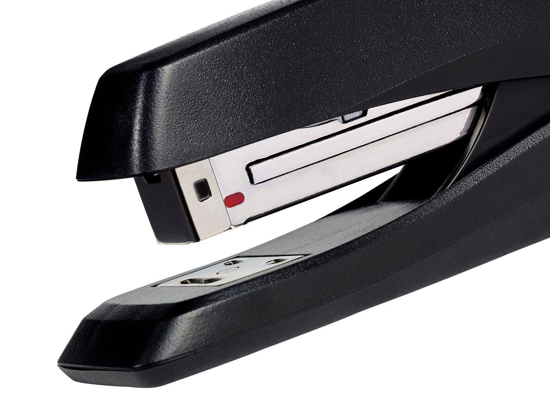 Rexel Ecodesk Stapler Full Strip Throat 75mm Black Ref 2100026