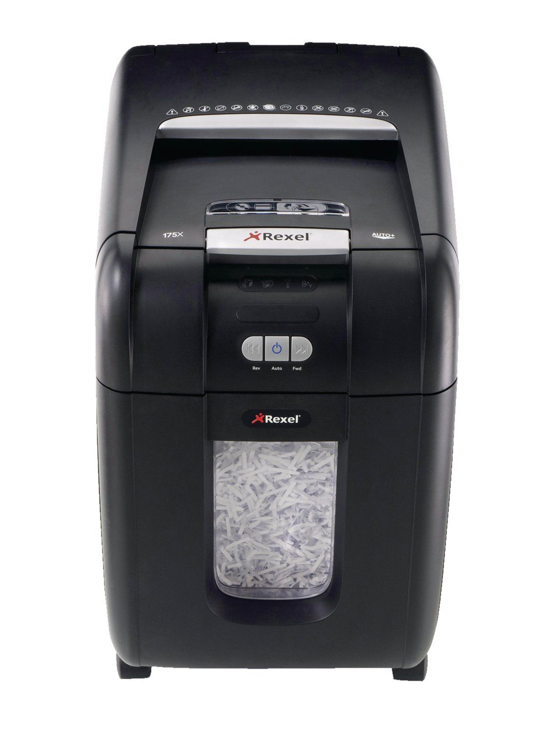 Rexel Auto Plus 200X Cross Cut Shredder Black 2103175