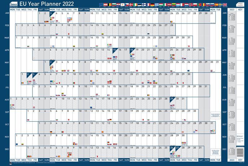 Sasco EU Planner Unmounted 2022 2410161