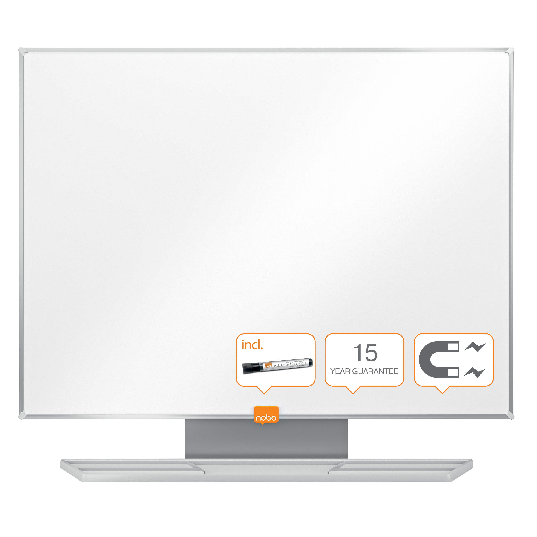 Nobo Classic Drywipe Board Magnetic 450x600mm 1902641