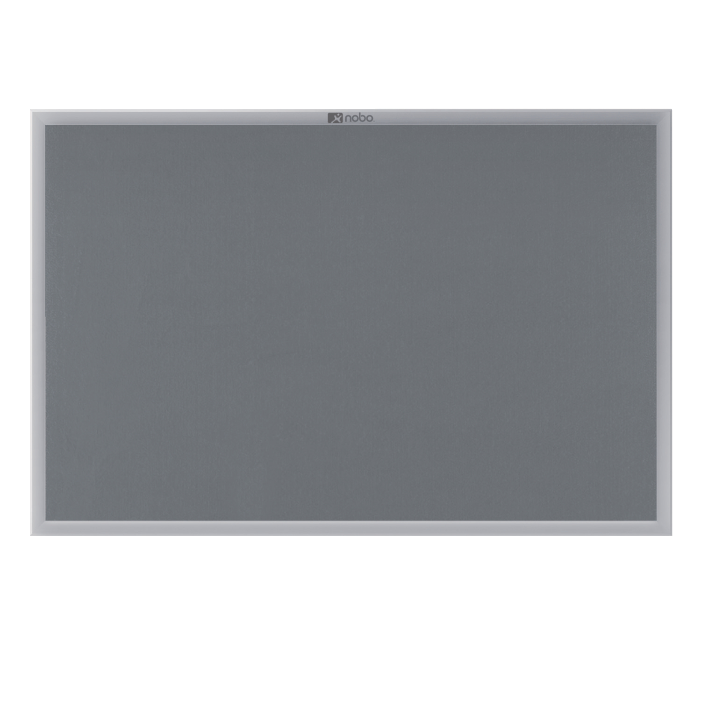 Nobo Gemini Aluminium Frame Noticeboard 1500x1000mm Grey