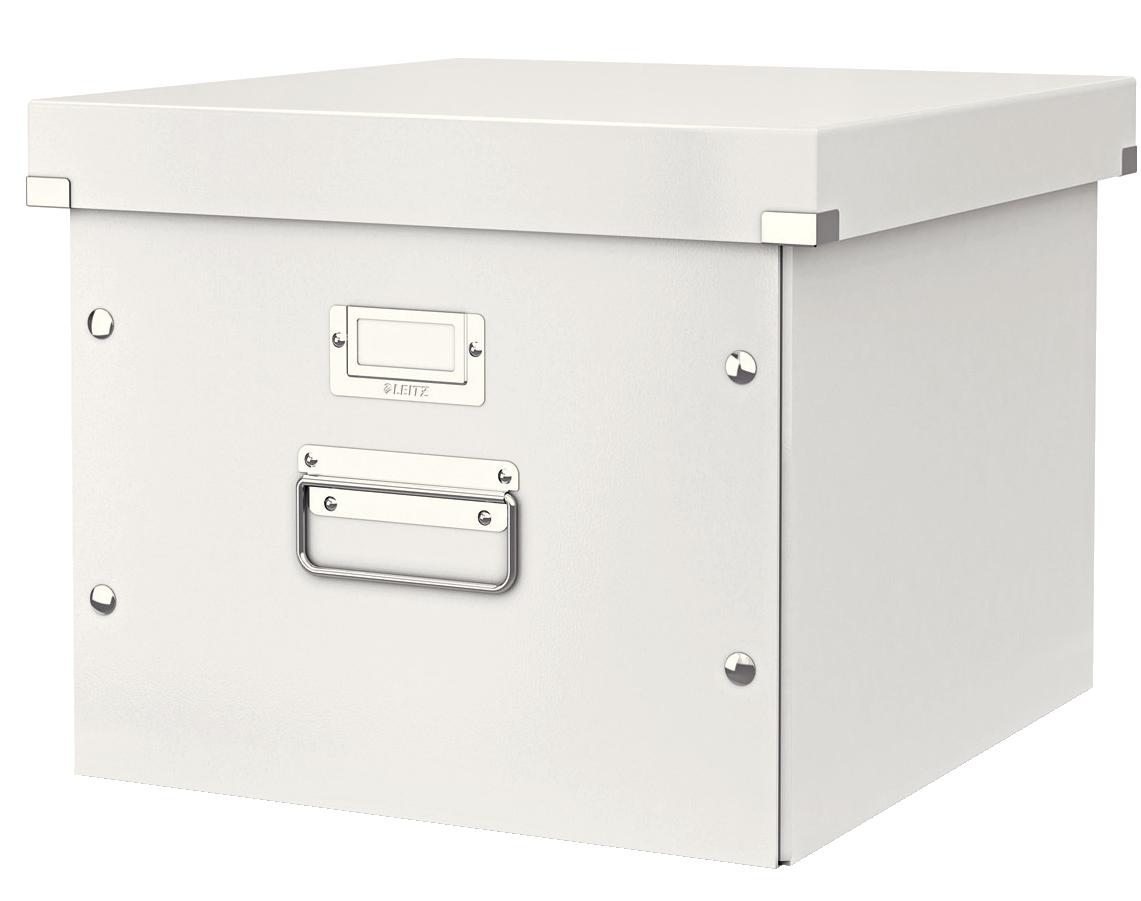 Storage Boxes Leitz Click and Store Suspension File Storage Box Laminated Board White