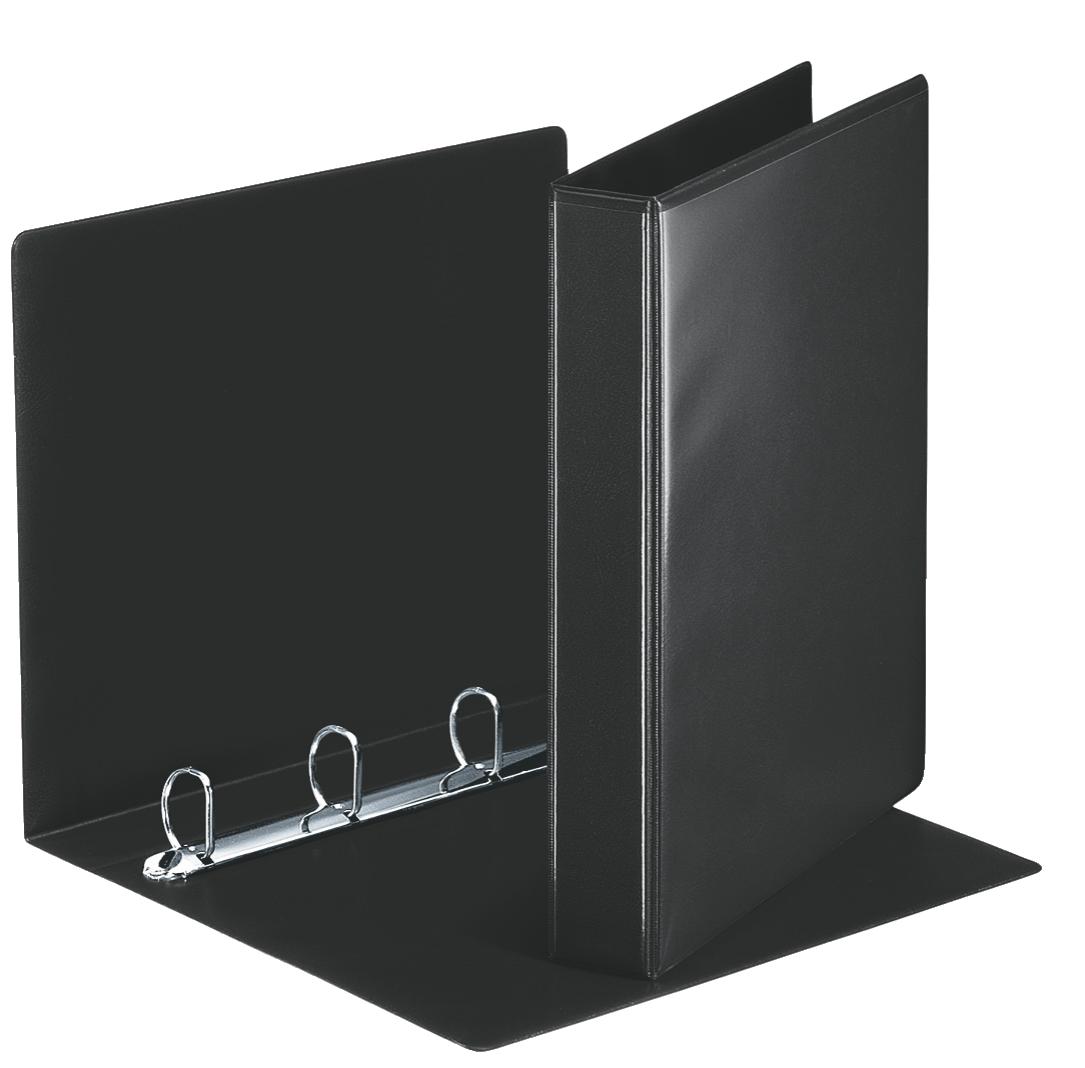 Esselte Essentials Pres Binder A4 30mm 4 D-Ring BK PK10