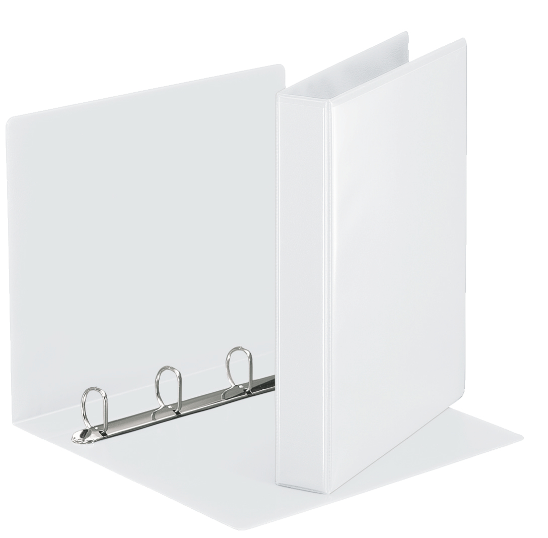Esselte Essentials Pres Binder A4 30mm 4 D-Ring WH PK10