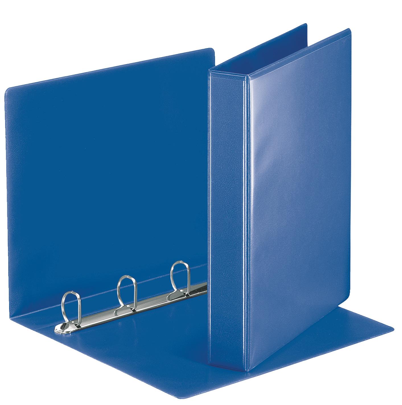 Esselte Essentials Pres Binder A4 30mm 4 D-Ring Blue PK10