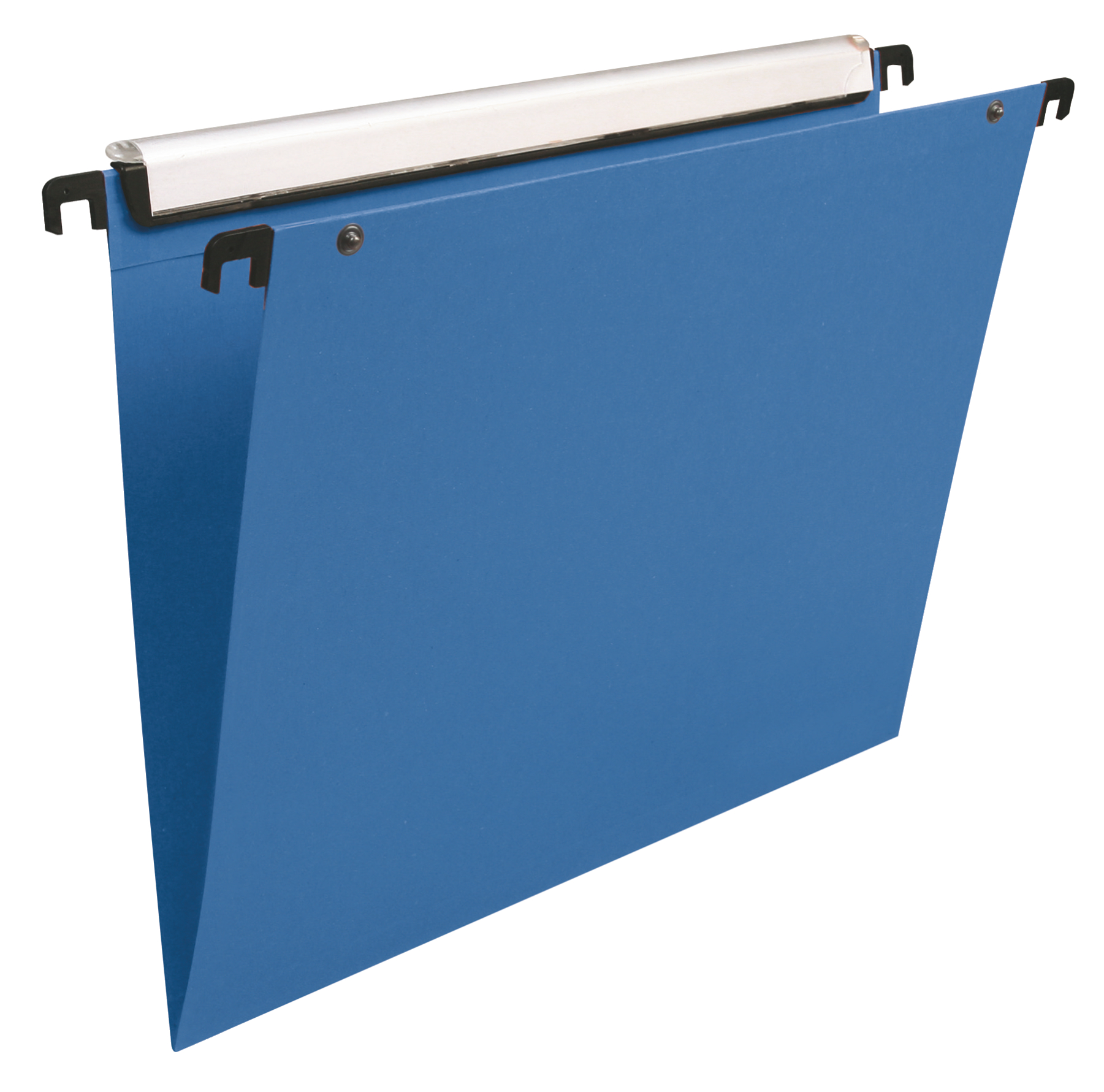 Lateral Files Esselte Orgarex Dual Foolscap Lateral Suspension File Kraft 30mm Blue (Pack 25) 21646