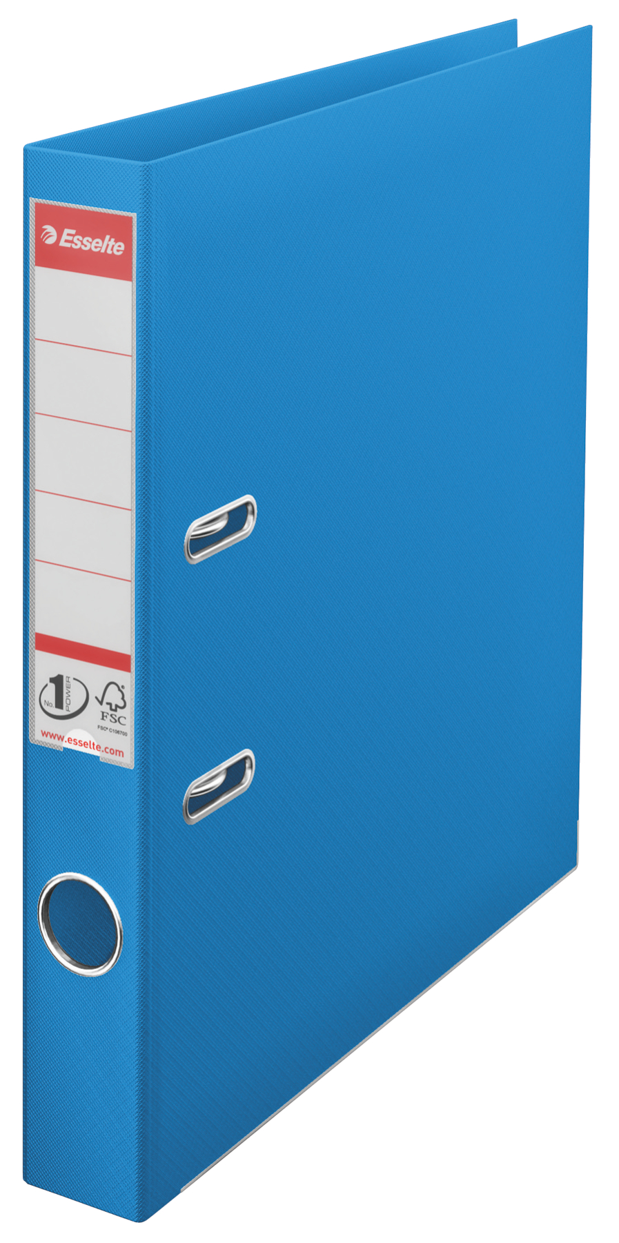 Esselte No.1 VIVIDA Lever Arch File Polypropylene A4 50mm Spine Width Blue (Pack 10) 624071
