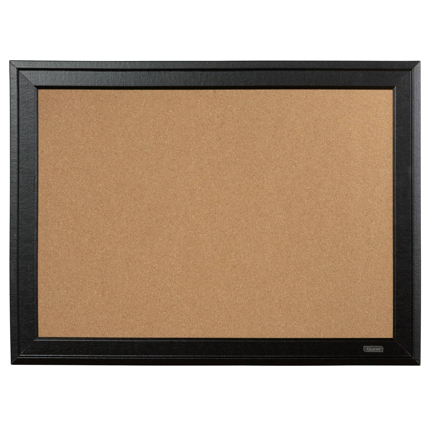 Quartet Cork Board Black Frame 585x430mm