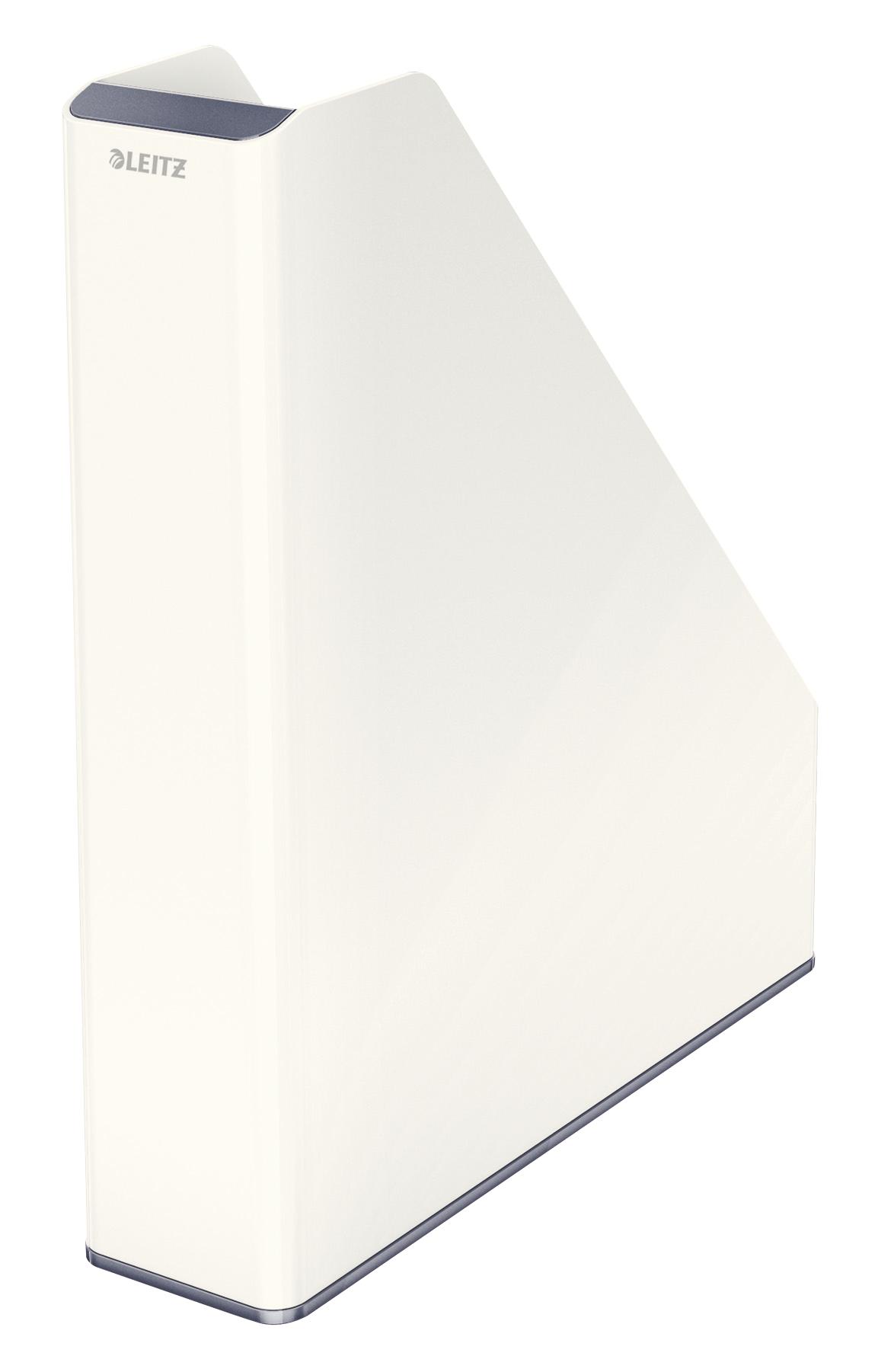 Magazine Files Leitz WOW Dual Colour Magazine File A4 White/Grey 53621001