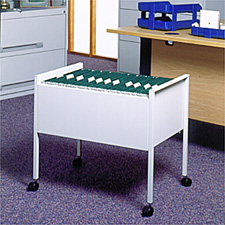 Image for Rexel Suspension Filing Trolley for 100 Files Grey