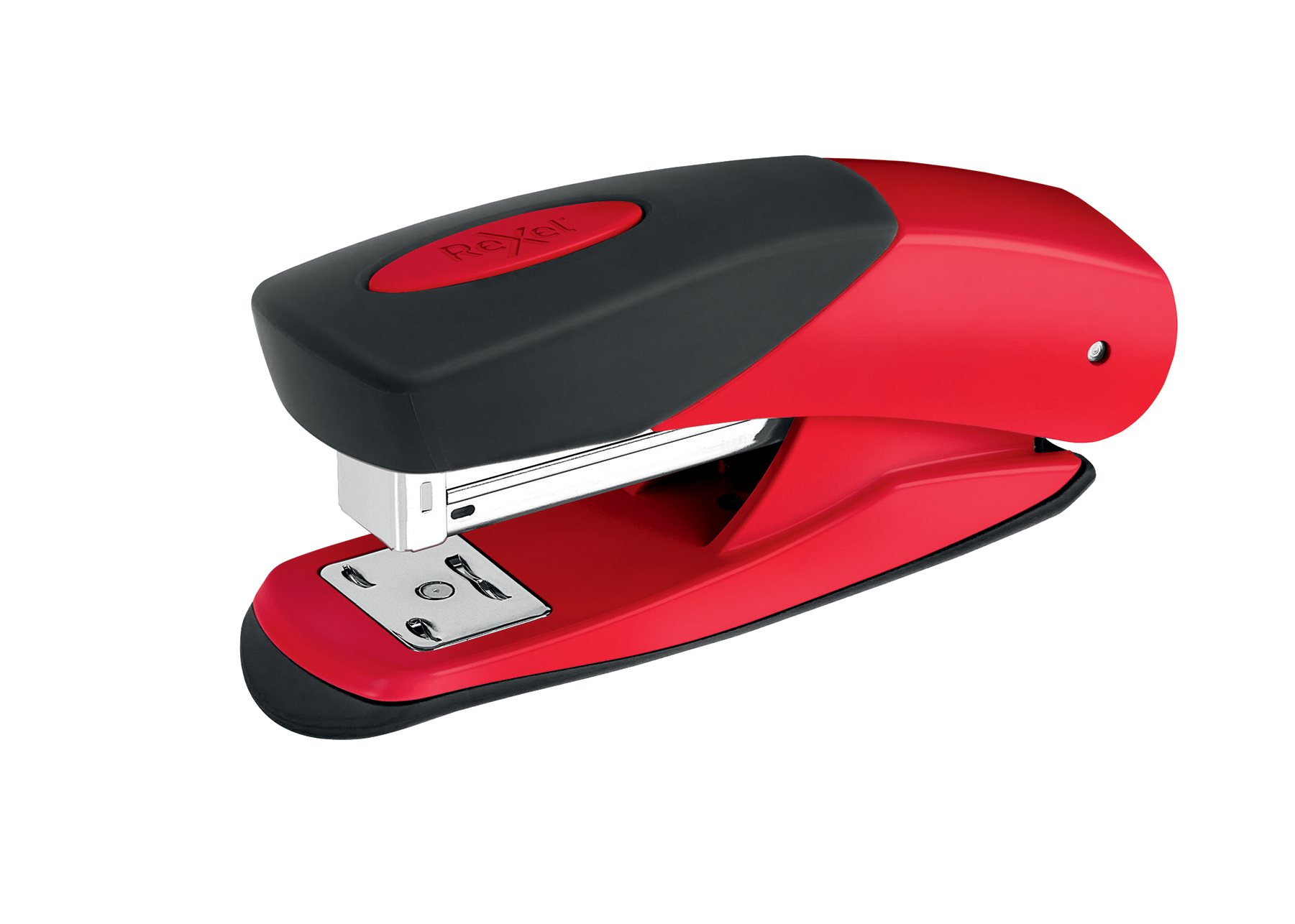 Rexel Choices Matador Half Strip Stapler Metal 25 Sheet Red