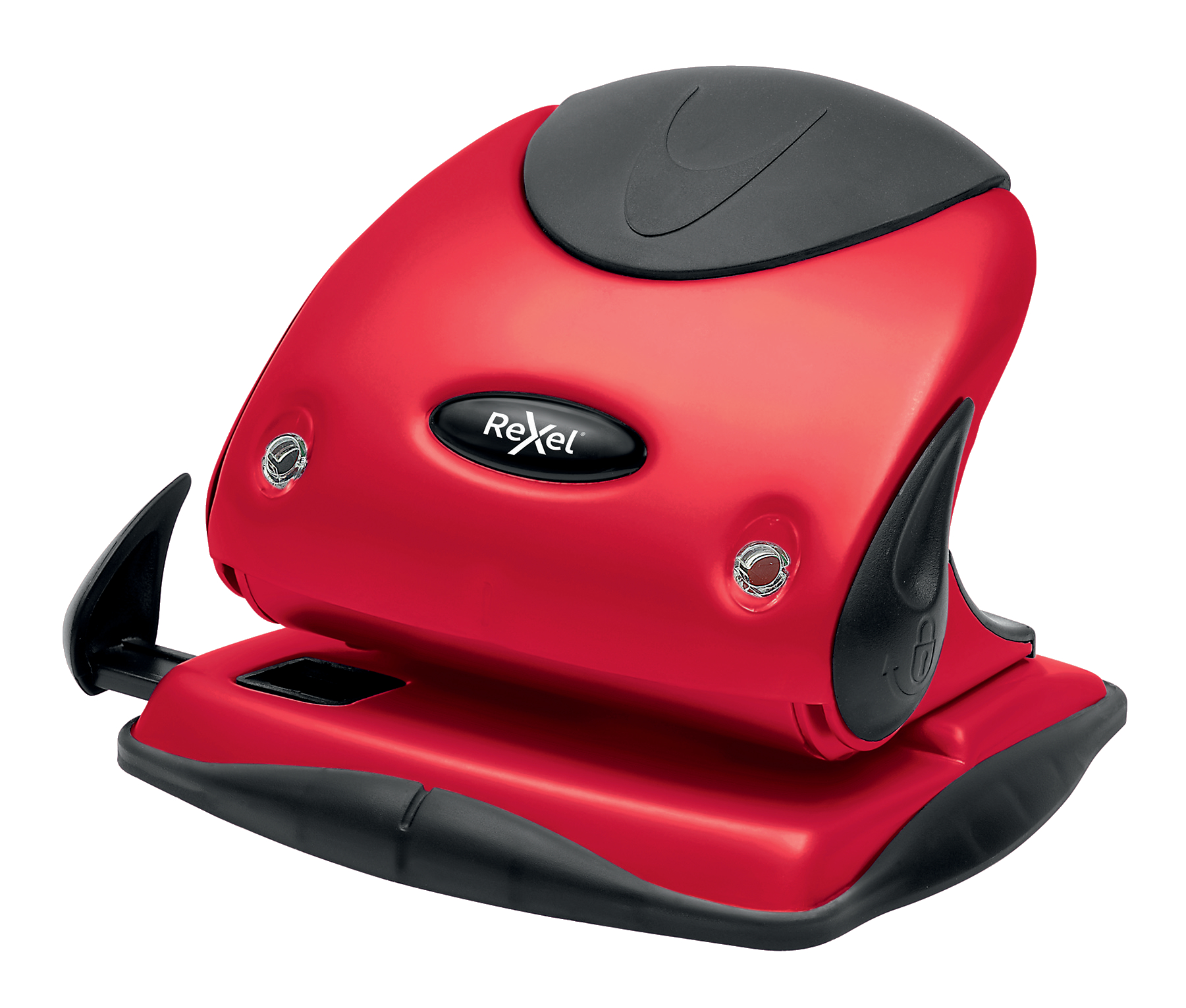 Rexel Choices P225 2 Hole Punch Red