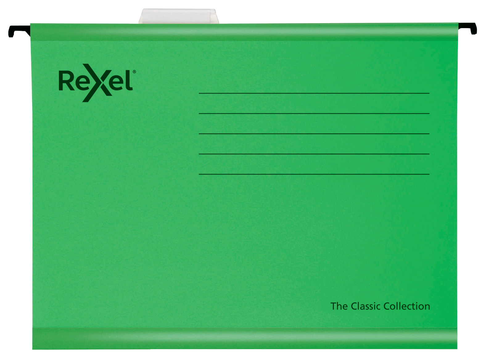 Rexel Classic Suspension Files Foolscap Green PK25