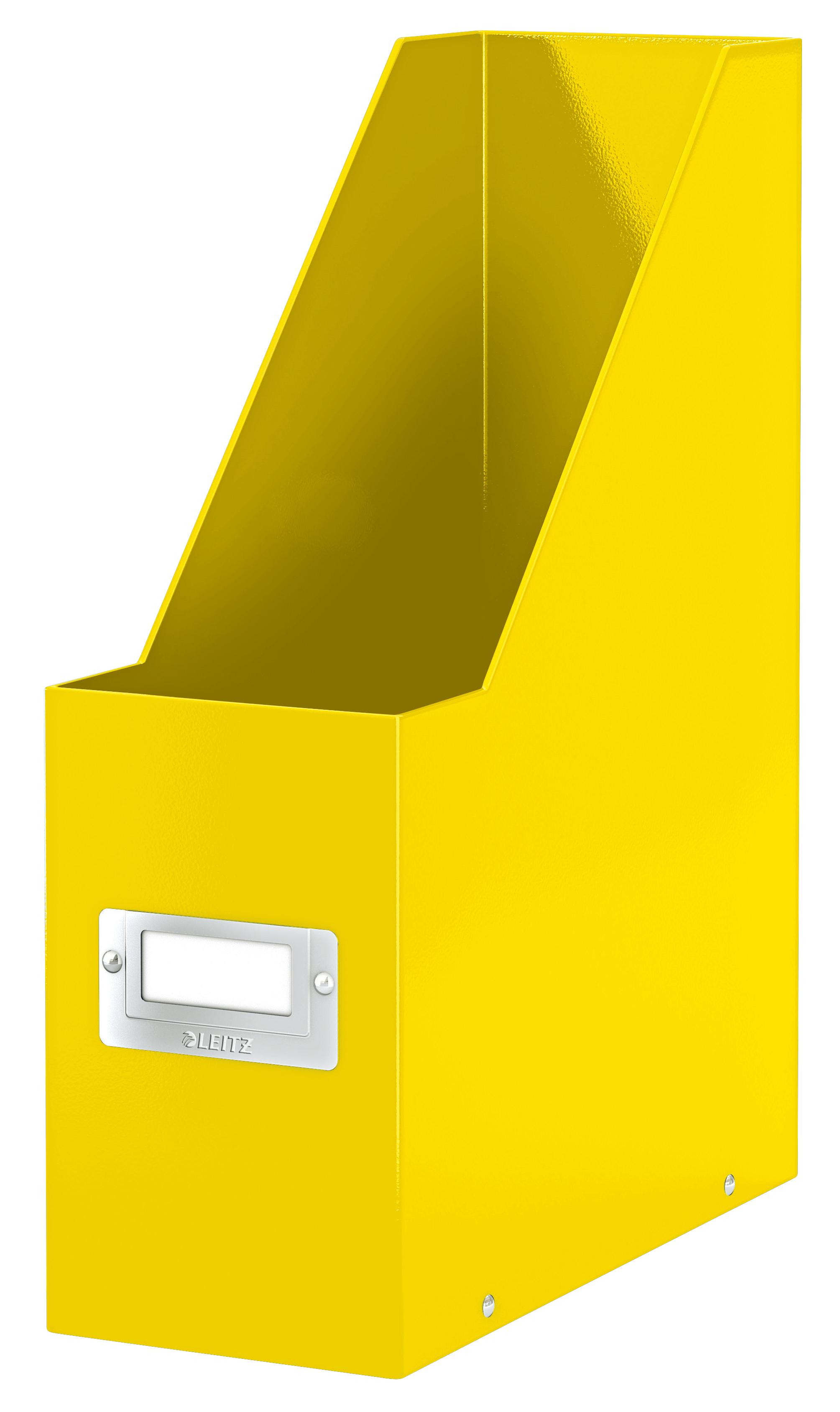 Leitz Click & Store Magazine File Yellow
