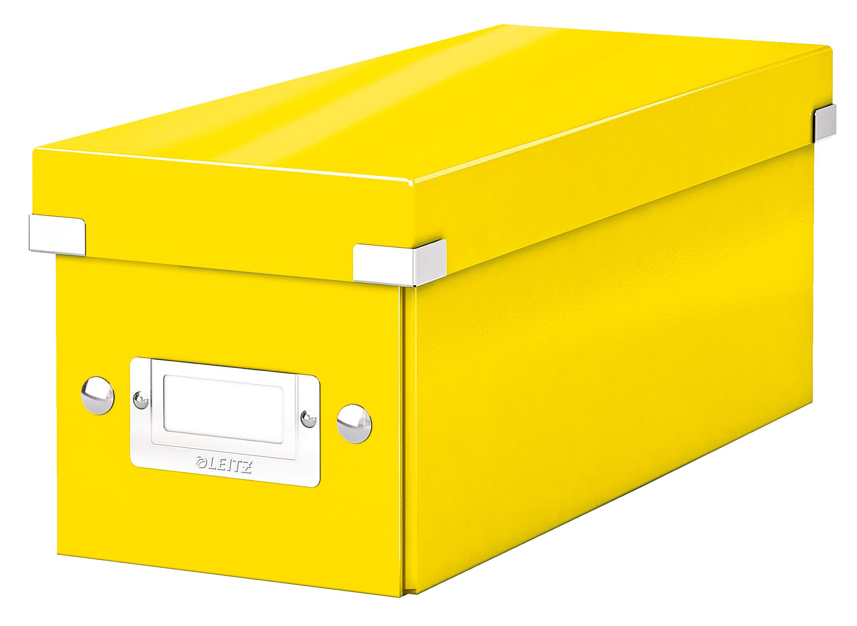 Tool Boxes Leitz Click & Store CD Storage Box Yellow