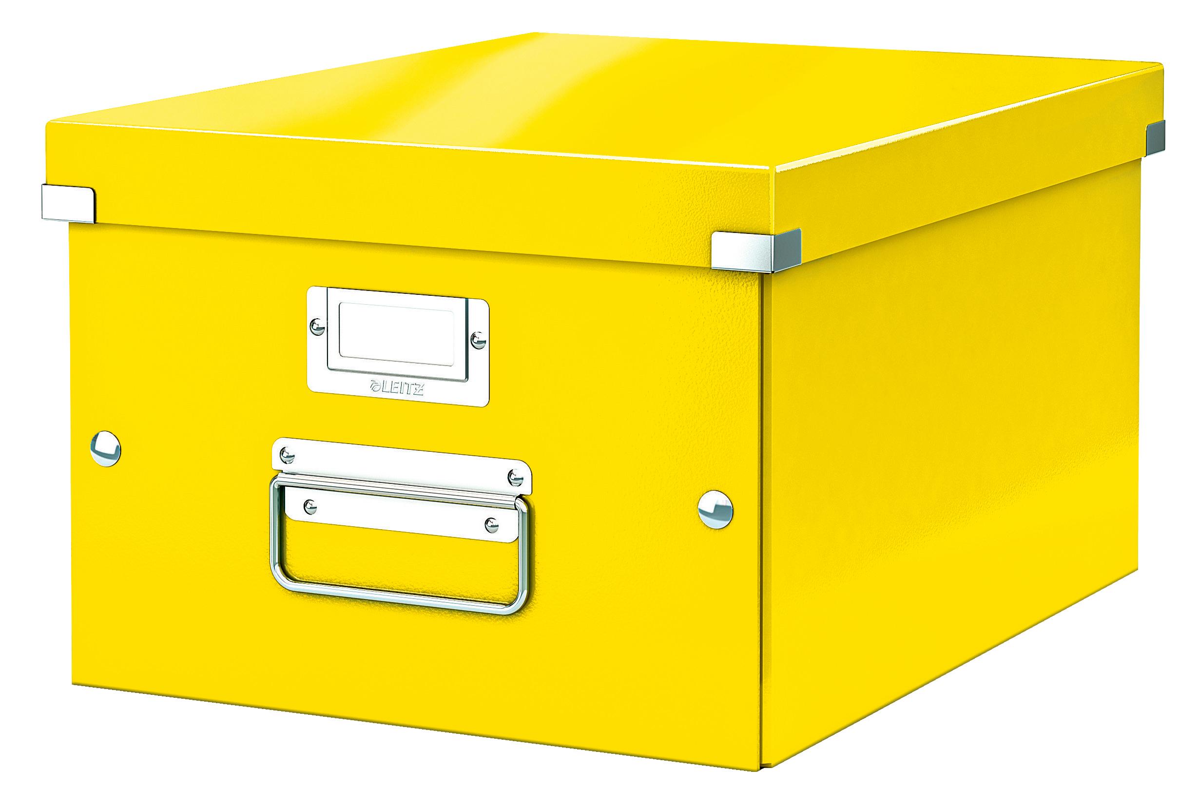 Storage Boxes Leitz Click & Store Medium Box Yellow