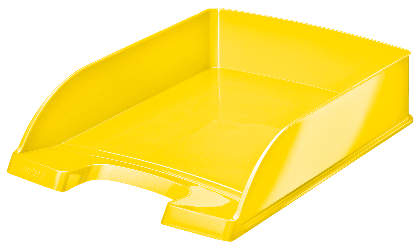 Letter Trays Leitz WOW Letter Tray A4 Yellow