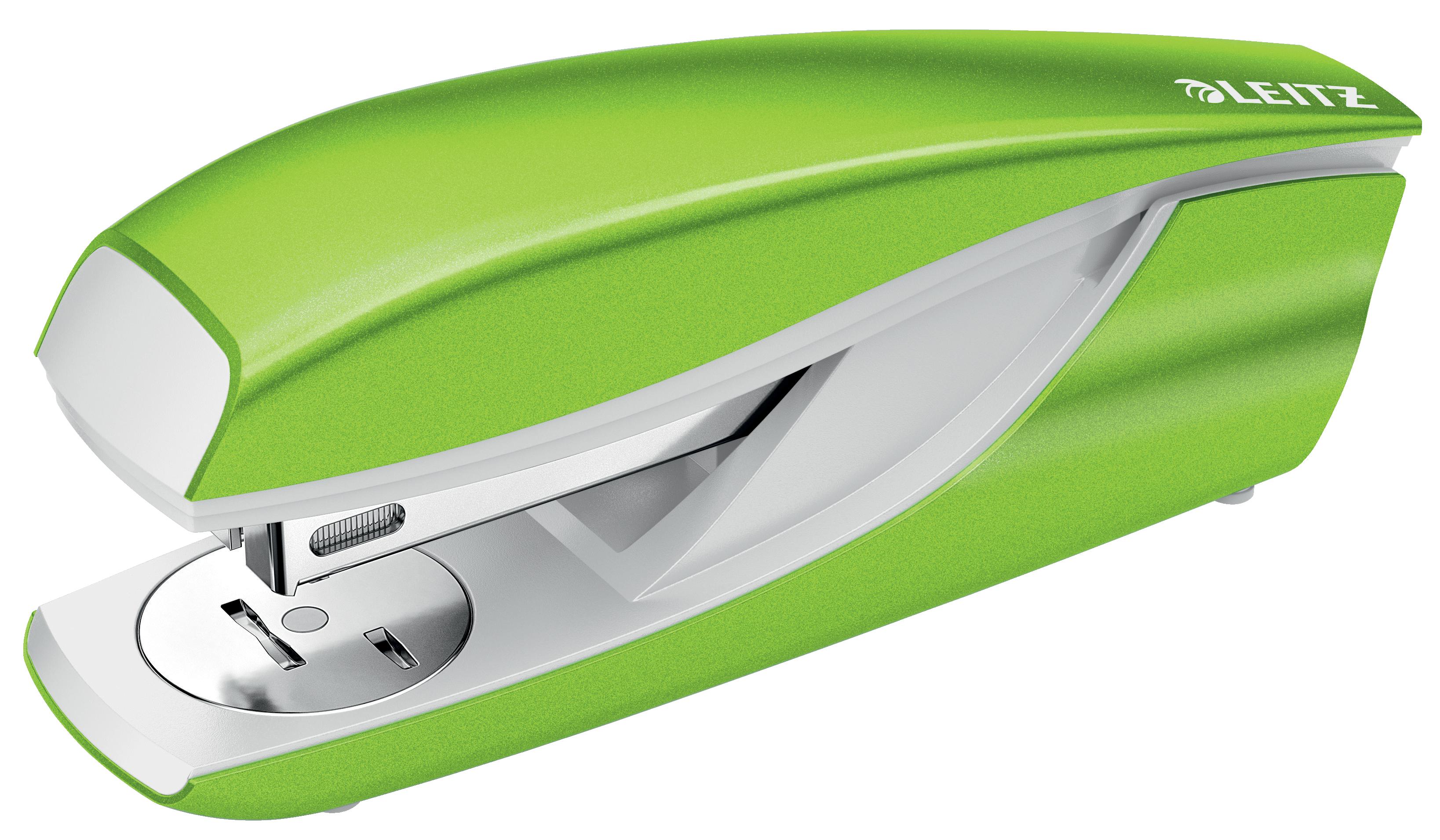 Leitz New NeXXt WOW Metal Office Stapler 30sh Green