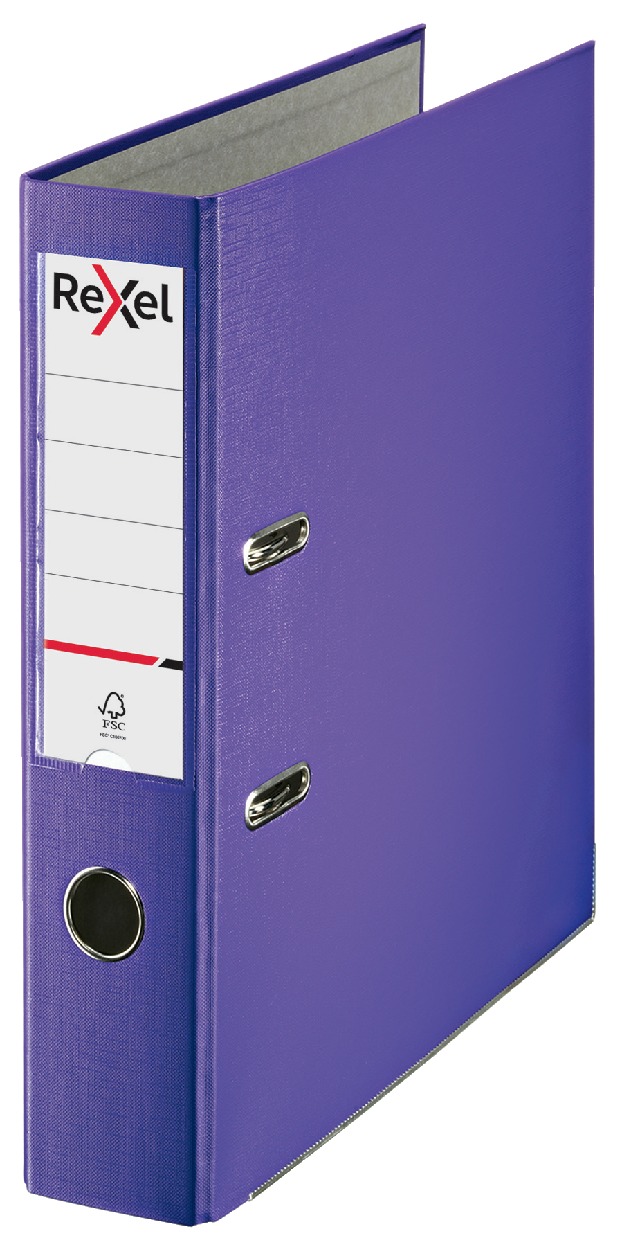 Lever Arch Files Rexel Lever Arch File ECO Polypropylene A4 75mm Spine Width Purple